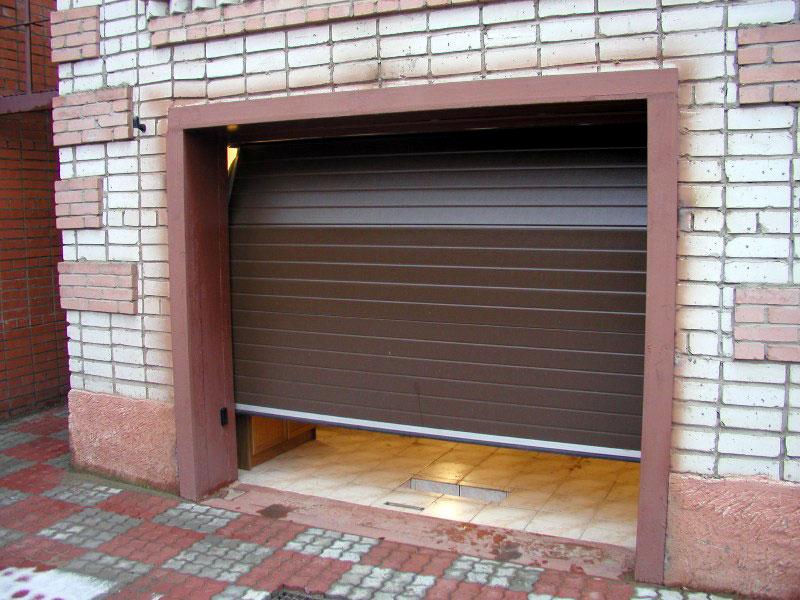 цена ворота гараж